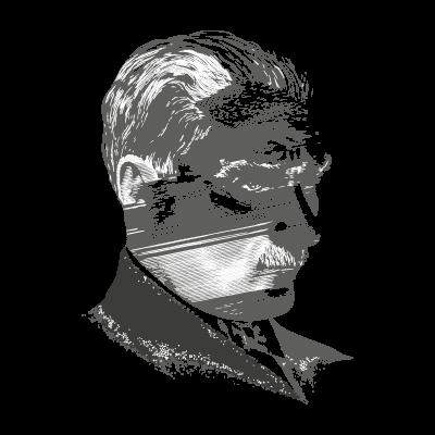 Mustafa Kemal Ataturk logo vector