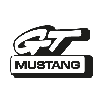 Mustang GT logo vector