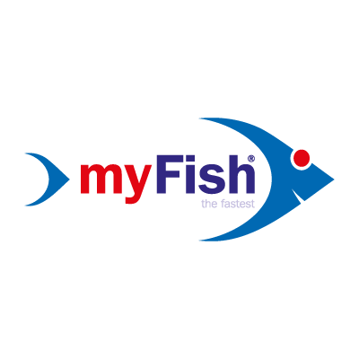 My fish logo vector