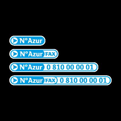 N Azur logo vector