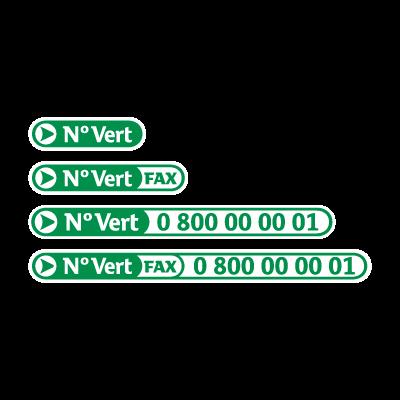 N Vert logo vector