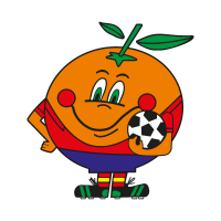 Naranjito Mundial vector logo