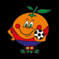 Naranjito Mundial vector logo