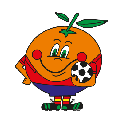 Naranjito Mundial logo vector