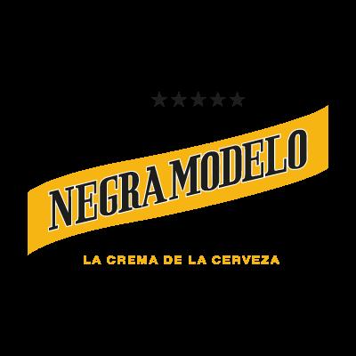 Negra Modelo logo vector