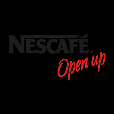 Nescafe Open up logo vector