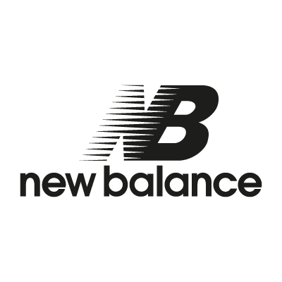New Balance black logo vector