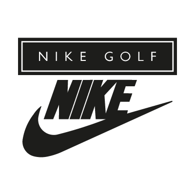 Nike Golf black logo vector