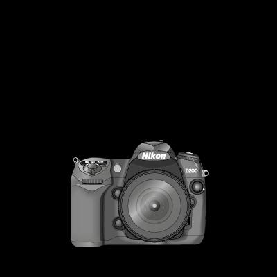 Nikon D200 logo vector