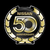 Nissan 50 Anniversary vector logo