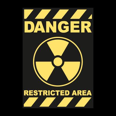 Nuclear Danger logo vector