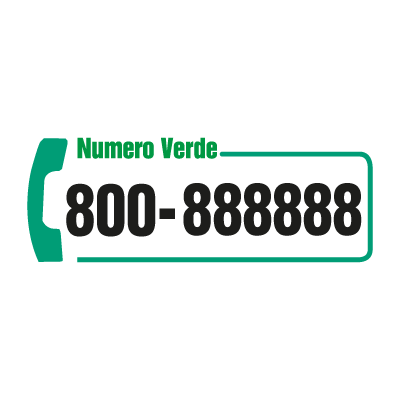 Numero Verde Telecom vector logo