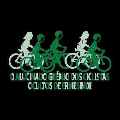 O Alucinado Gremio Dos Ciclistas vector logo