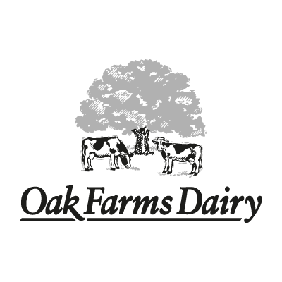 Oak Farms Dairy logo vector