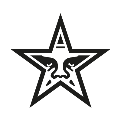 Obey the Giant Star logo vector