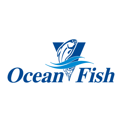 Ocean Fish logo vector