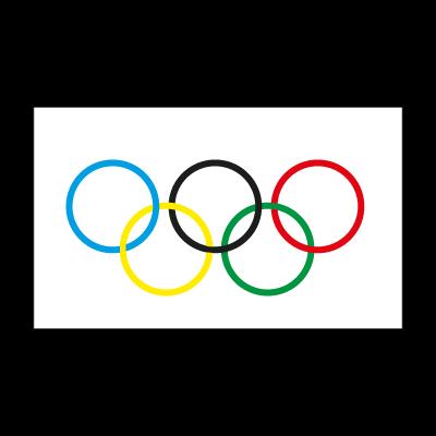 Olympic Flag logo vector
