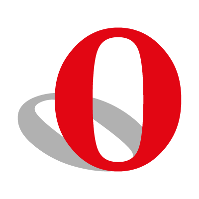 Opera Browser logo vector