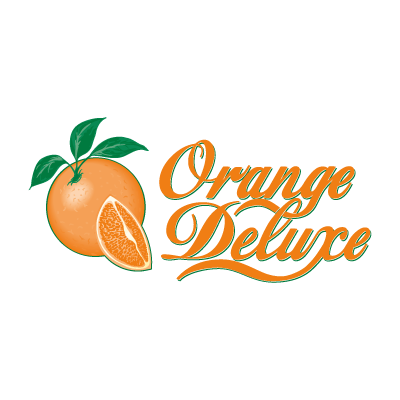 Orange Deluxe logo vector