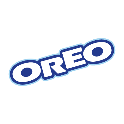 Oreo Food logo vector