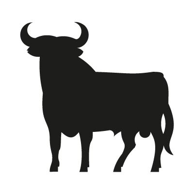 Osborne el toro logo vector