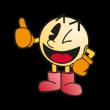 Pac-Man (character) logo vector