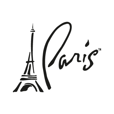 Paris, Las Vegas logo vector
