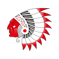 Piel Roja vector logo