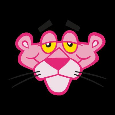 Pink Panther logo vector