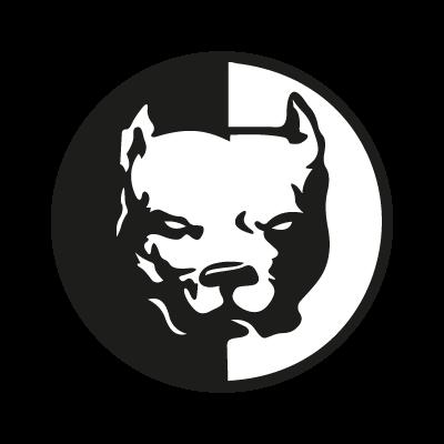 Pit bull logo vector
