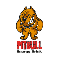 Pitbull Energy Drink vector logo