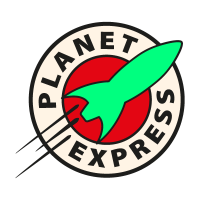 Planet Express vector logo