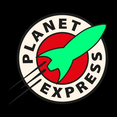 Planet Express logo vector