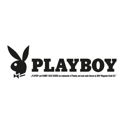 Playboy Magazine logo vector