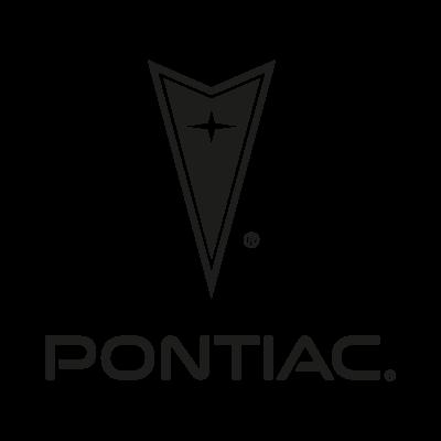 Pontiac black logo vector