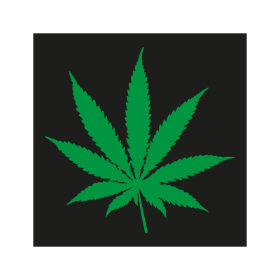 Pot Leaf logo vector