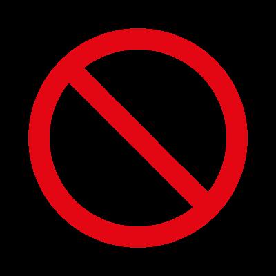 Prohibido fumar logo vector