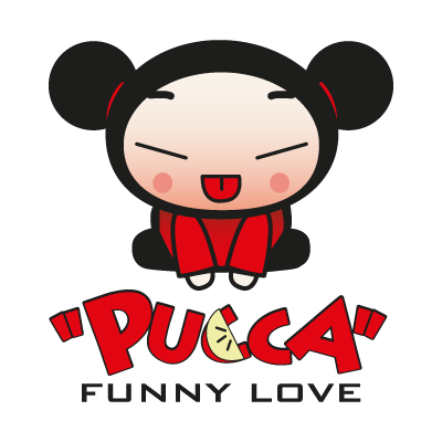 Pucca Funny Love logo vector