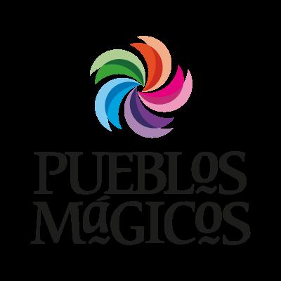 Pueblos magicos logo vector
