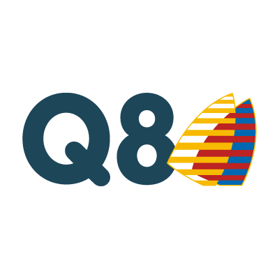 Q8 (.EPS) logo vector
