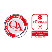QA Technic & Turk AK vector logo