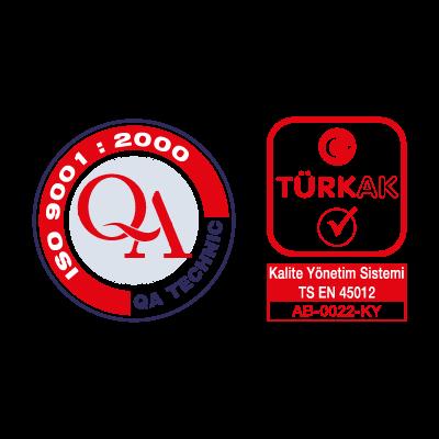 QA Technic & Turk AK logo vector