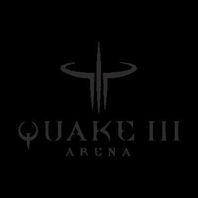 Quake III logo vector