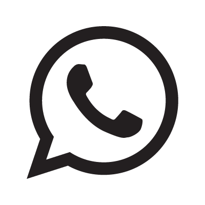 WhatsApp logo symbol vector