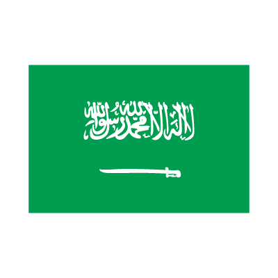 Flag of Saudi Arabia logo vector