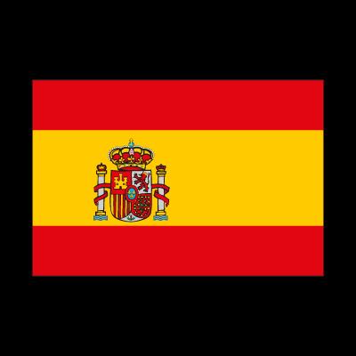 Flag of Spain vector logo