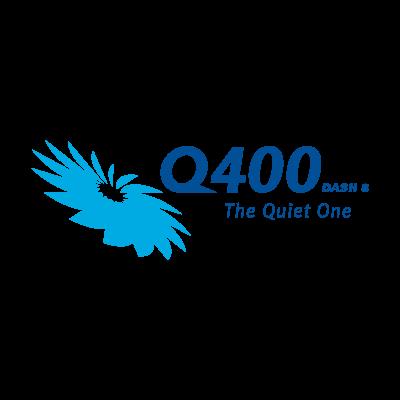 Q400 Dash 8 logo vector