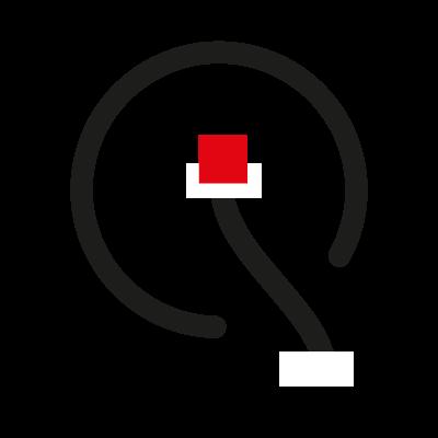 Qi logo vector