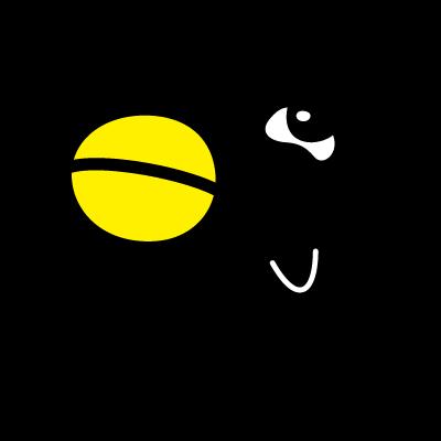 QR Karasuto-kun logo vector