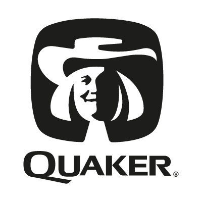 Quaker black logo vector